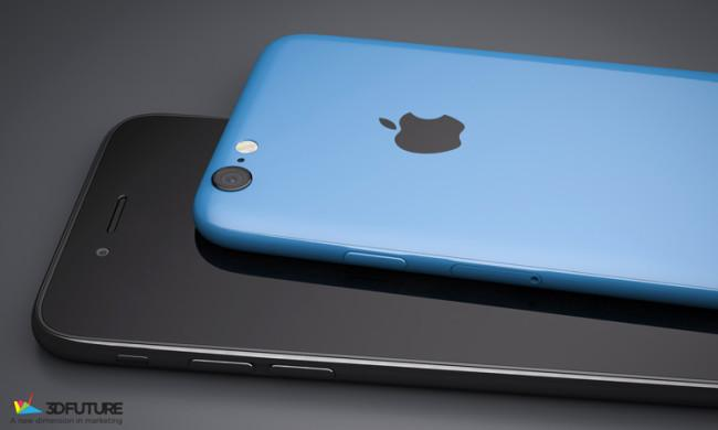 Render del iPhone 6c