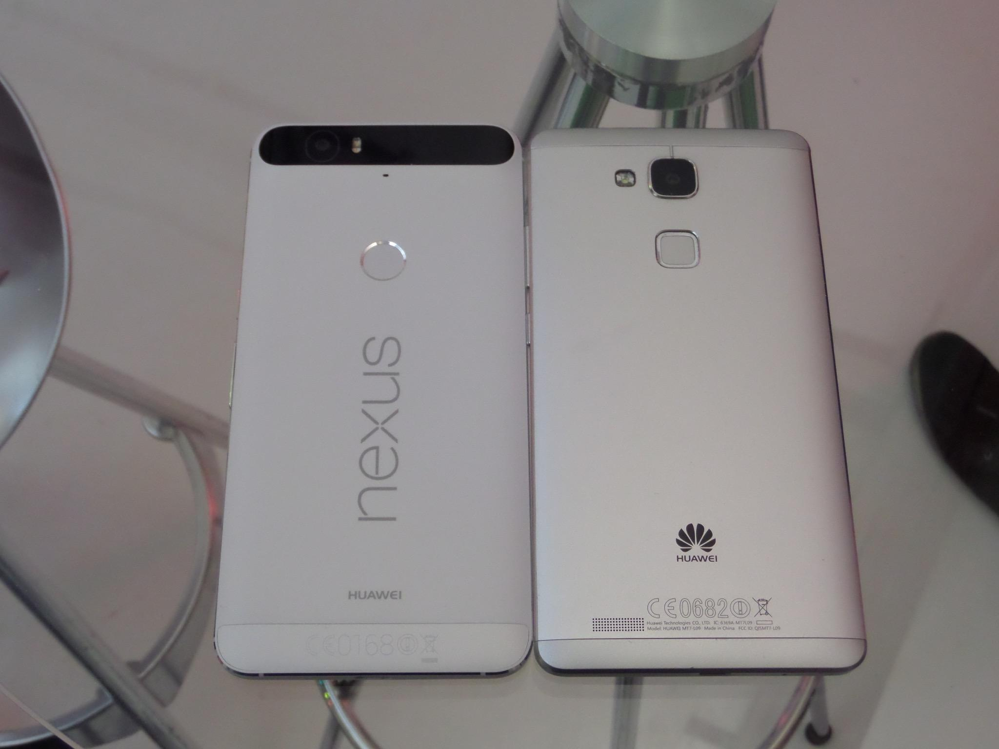 Huawei Mate 7 vs Nexus 6P