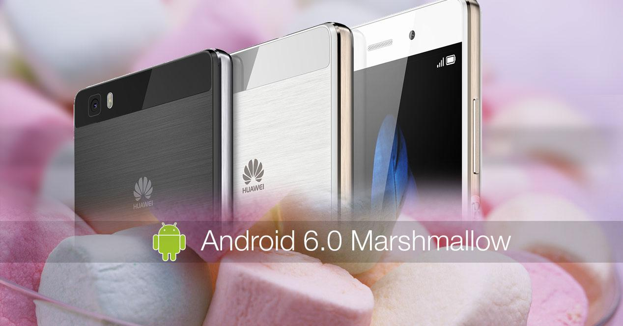 Huawei P8 Android 6.0