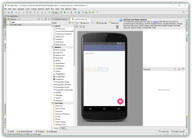 Android Studio 1.5