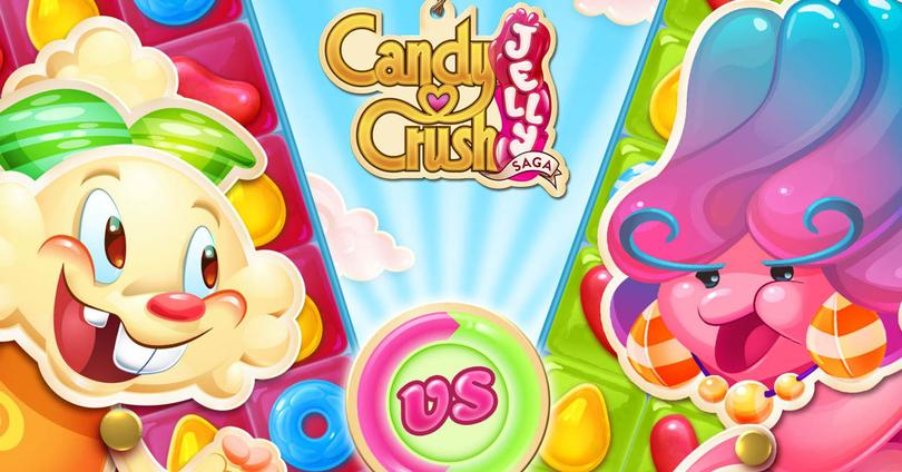 Candy Crush Jelly Saga portada
