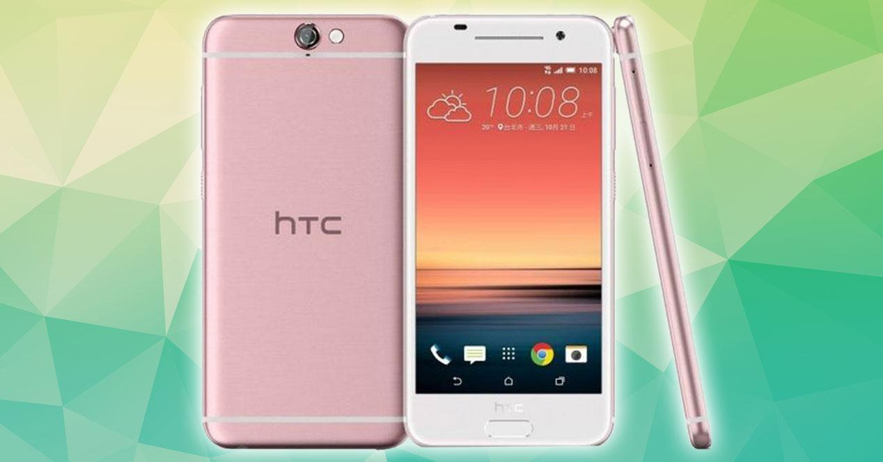 HTC One A9 rose gold