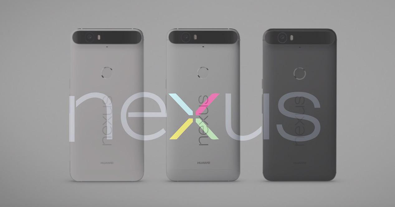 Nexus 6P en distintos colores