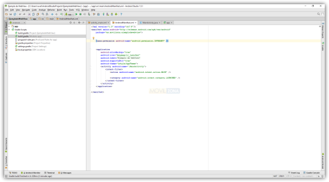 Android Studio - AndroidManifest.xml