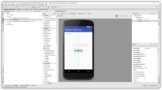 Views en una App Multi-Idioma con Android Studio