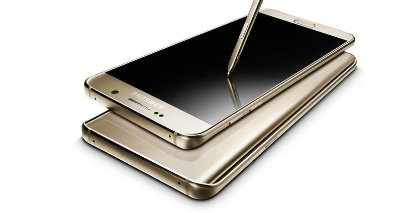 Galaxy Note 5 color dorado
