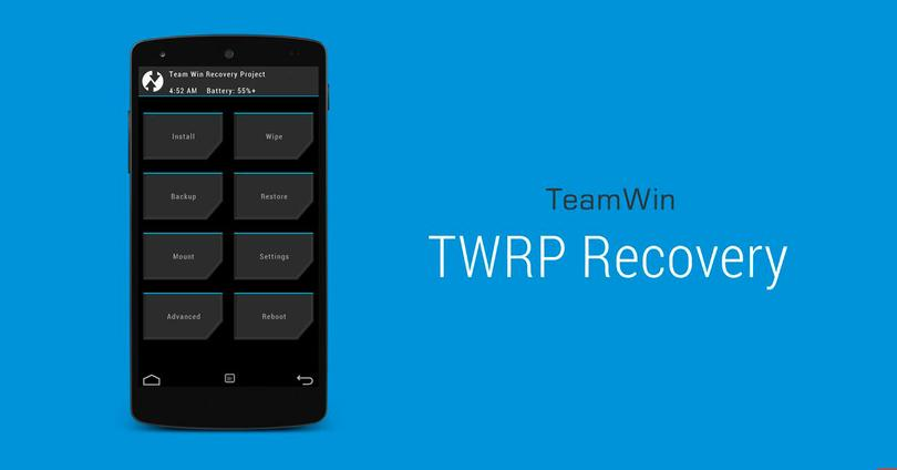 TWRP recovery para Android