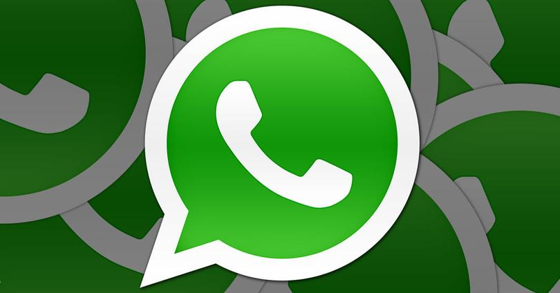 WhatsApp menu de ajustes