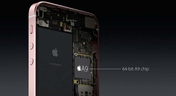 chip iphone se