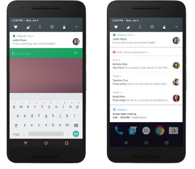 Sistema de notificaciones en Android N