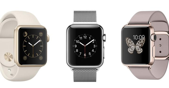 Modelos apple watch