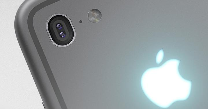 Doble cámara trasera del iPhone 7 Plus