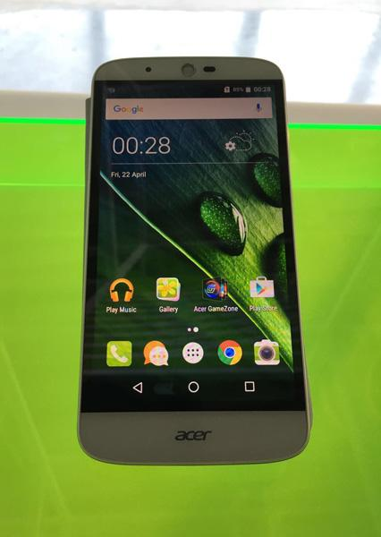 Display del Acer Liquid Zest Plus