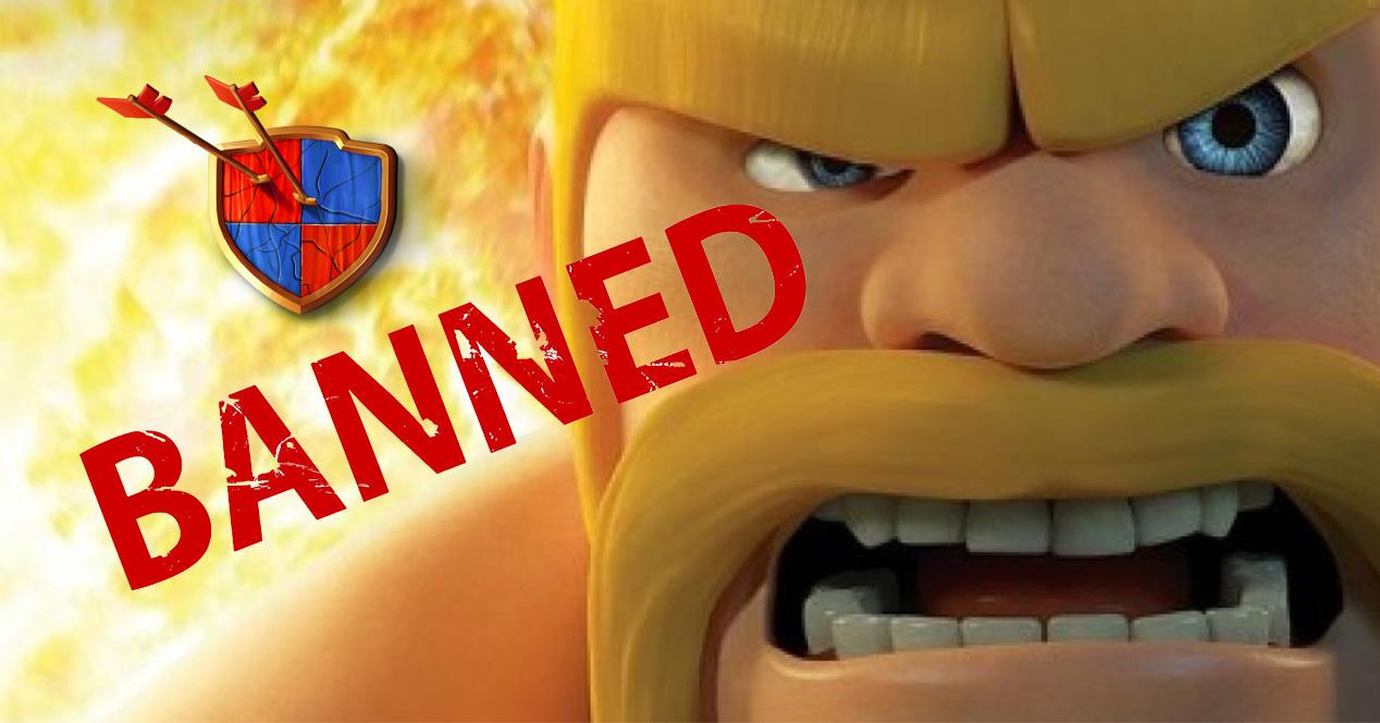 Baneos en Clash of Clans