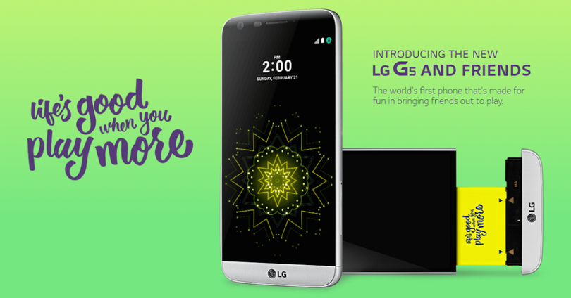 lg g5 and friends