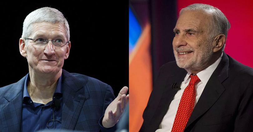 tim cook y carl icahn