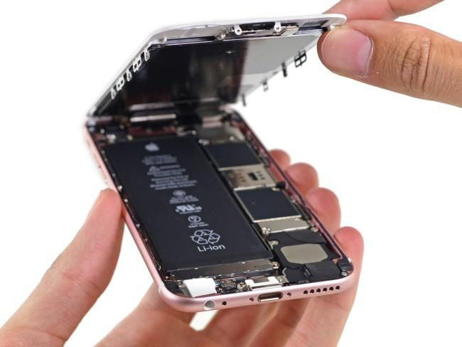 Interior del iPhone 6S