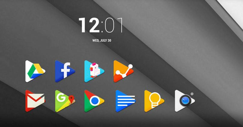 Google Play pack de iconos