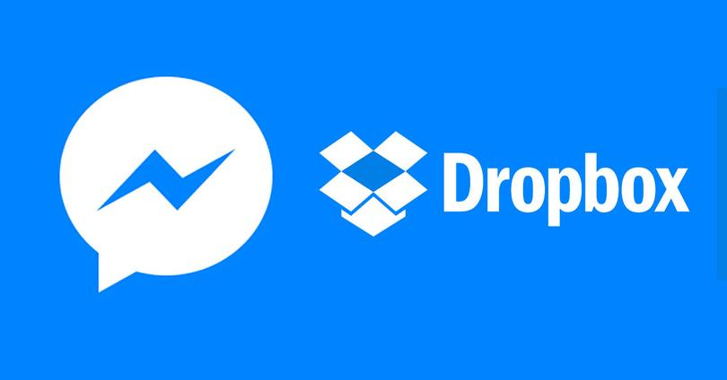 Facebook Messenger con Dropbox