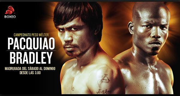 Pacquiao vs Bradley en TotalChannel