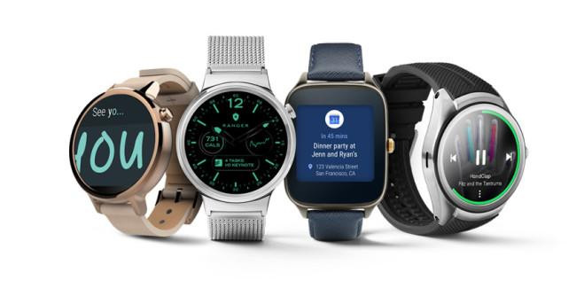 Smarctwatches con Android Wear 2.0