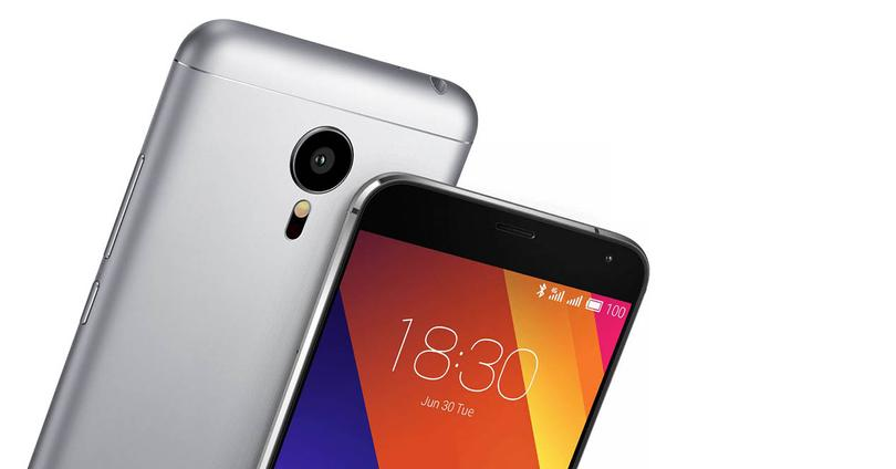 Meizu MX5 color gris