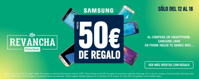 Regalos y promociones disponibles en Phone House