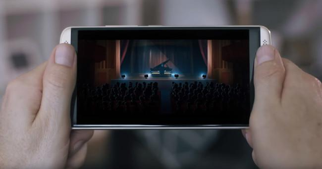 ZTE AXON 7 en vídeo de YouTube