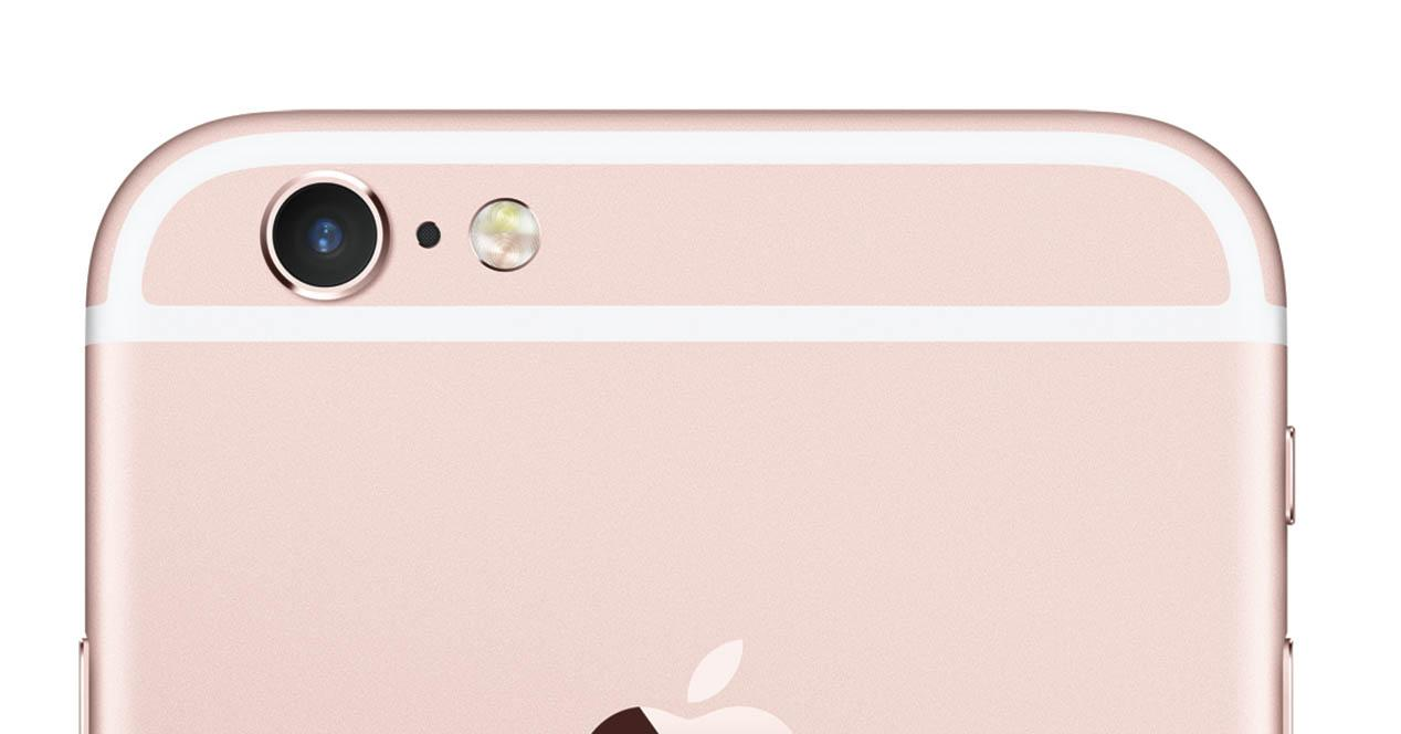 iPhone 6s de color rosa