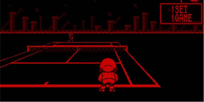 virtual boy tennis