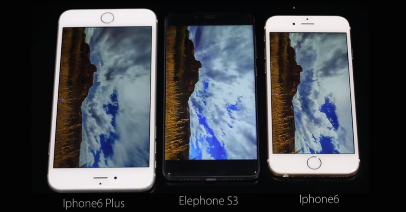elephone s3 vs iphone 6