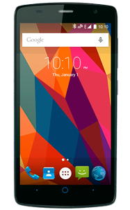 ZTE Blade L5 frontal en color negro