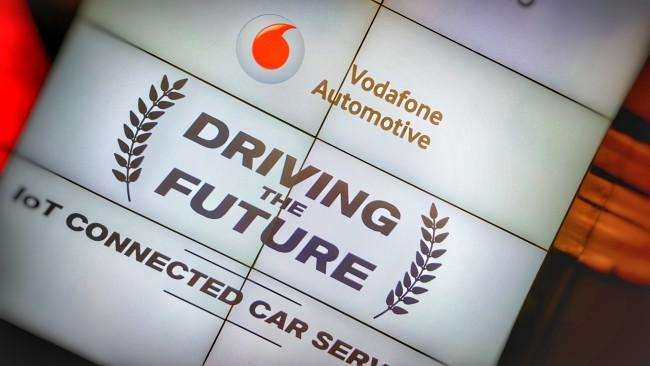 Vodafone Automotive logo