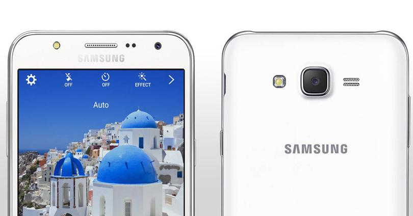 Samsung Galaxy J5 color blanco