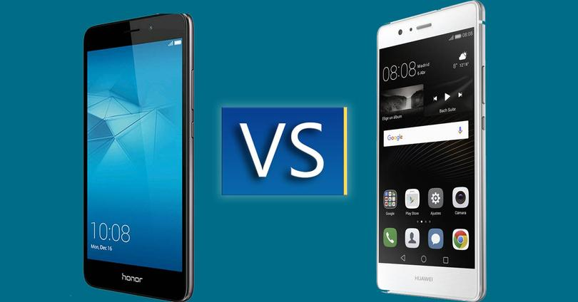 honor 5c vs huawei p9 lite comparativa