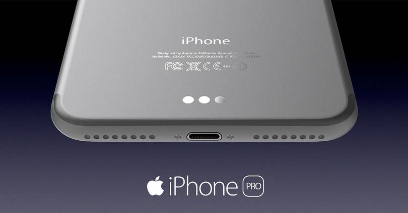 iphone 7 pro en color plata