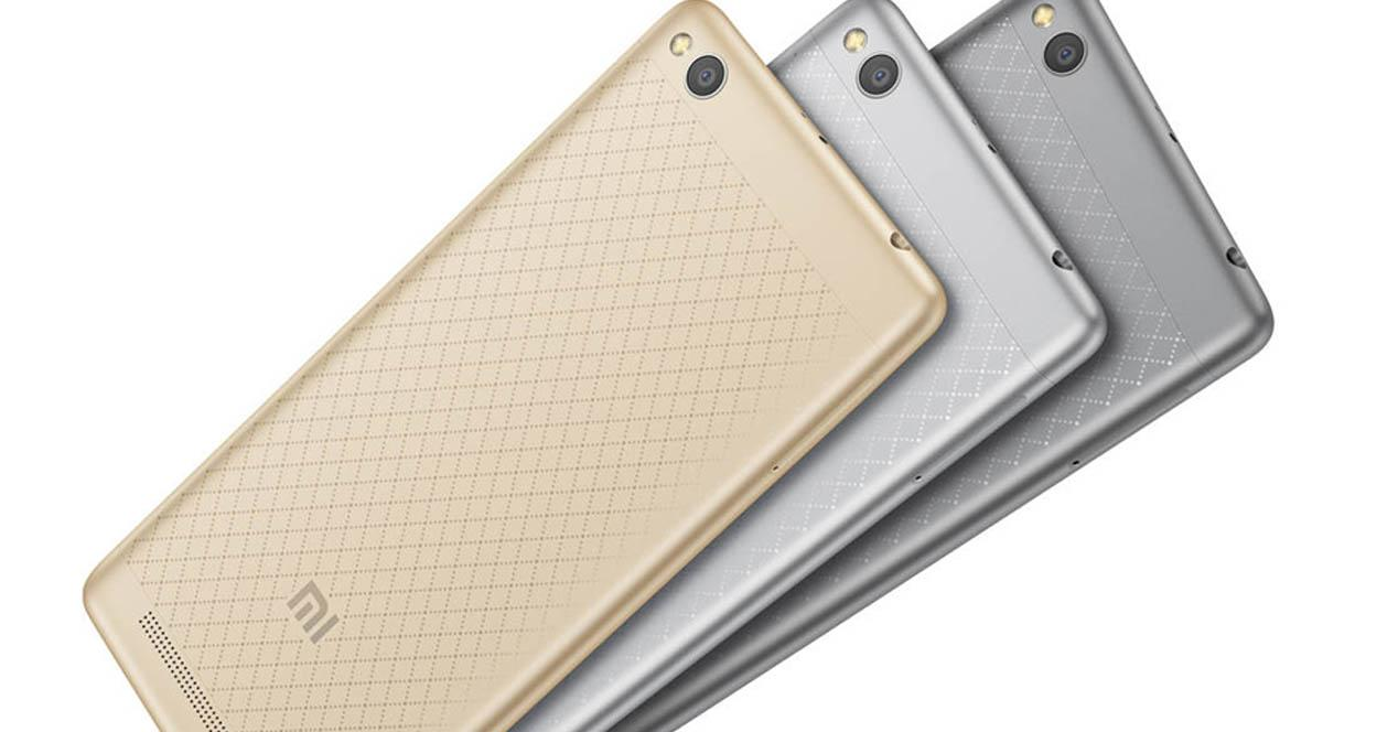 xiaomi redmi 3 en distintos colores