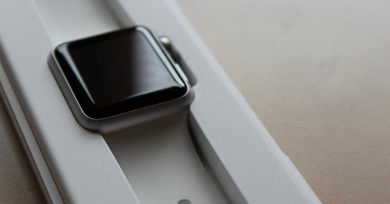 apple watch en caja