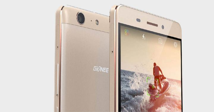 Gionee M5 color dorado