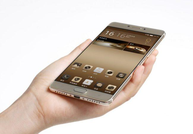 Frontal del Gionee M6