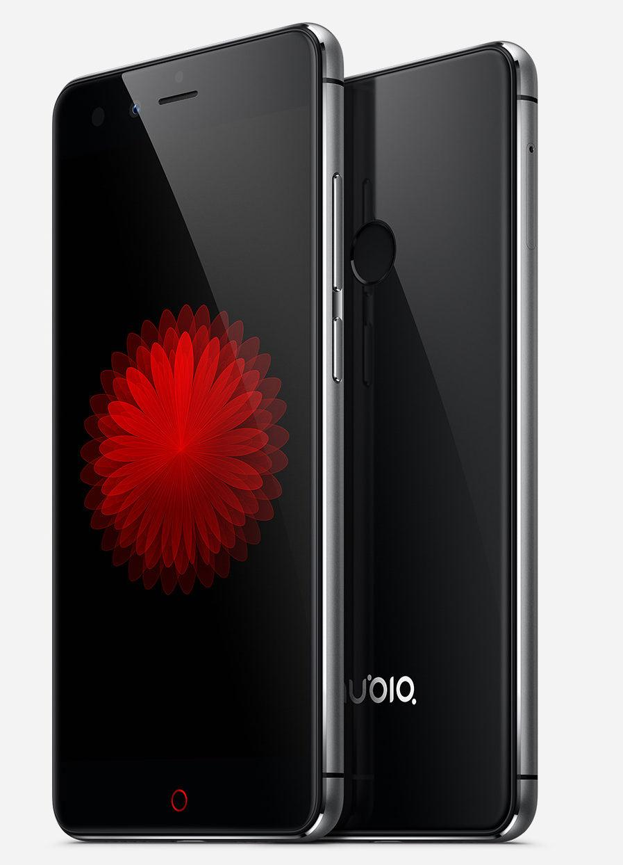 nubia z11 mini lateral negro y blanco
