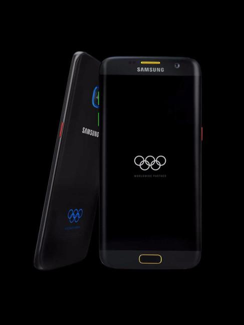 Carcasa del Samsung Galaxy S7 Edge Olympic Games Limited Edition