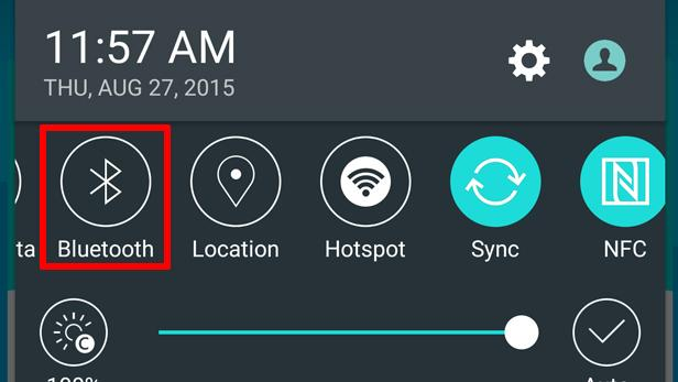 Iconos panel de notificaciones Android
