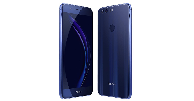 honor 8 de color azul