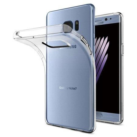 Samsung Galaxy Note 7 funda transparente