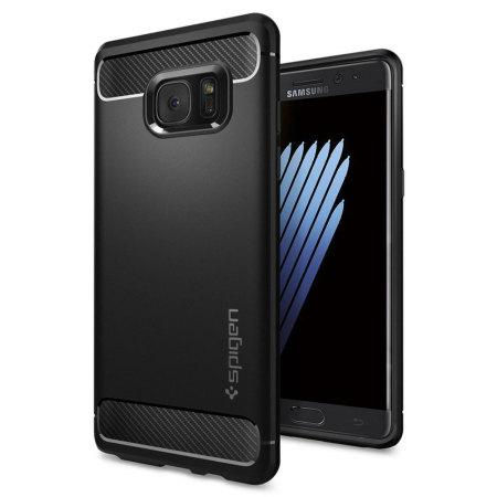 Samsung Galaxy Note 7 funda negra