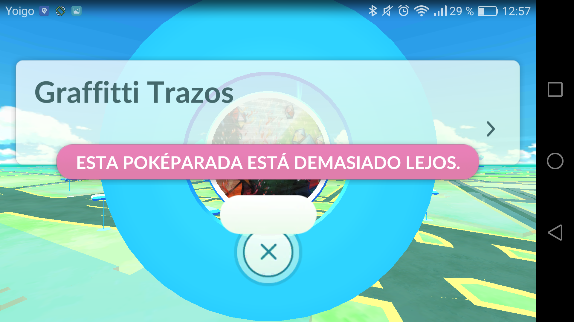 pokeparada en horizontal