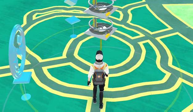 captura pokeparada en pokémon go