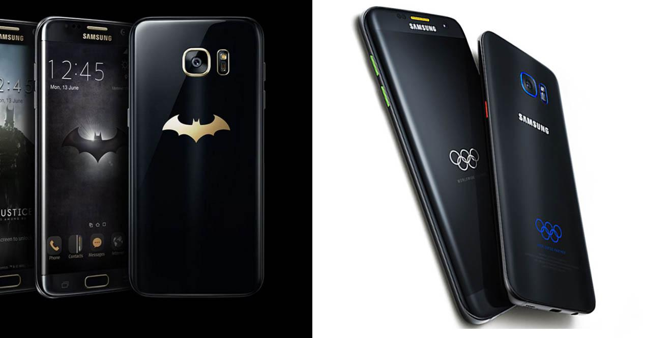 Samsung Galaxy S7 Injustiec Edition y Rio 2016