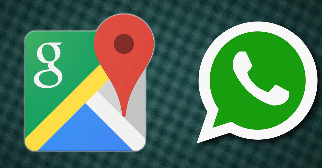 logos de whatsapp y google maps